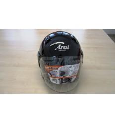 Casco Jet Arai X-Tend pearl black taglia S