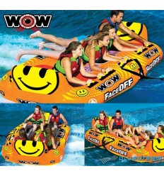 WOW Faceoff 4 person Towable