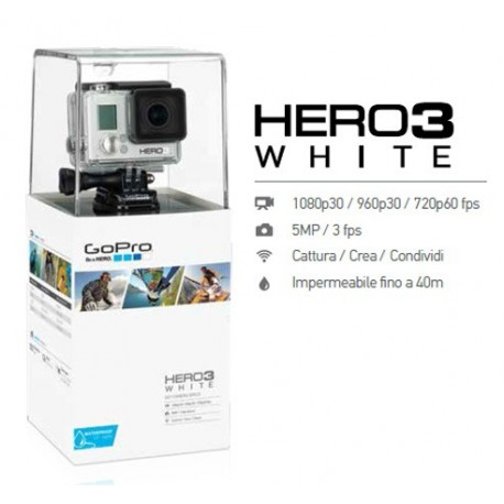 GoPro Hero 3 White Edition 2015