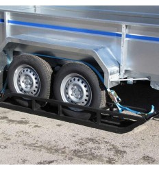 Trailer ski two axle