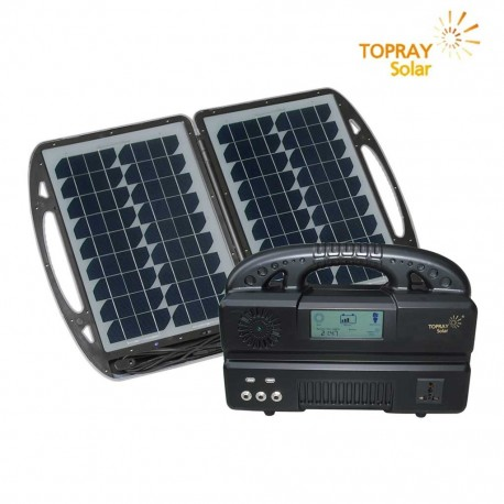 TopRay Kit Fotovoltaico Corrente Alternata