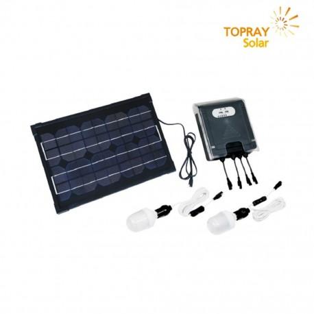 TopRay Kit Fotovoltaico Da Esterni