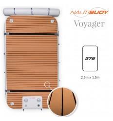 NautiBuoy Voyager 375 Teak