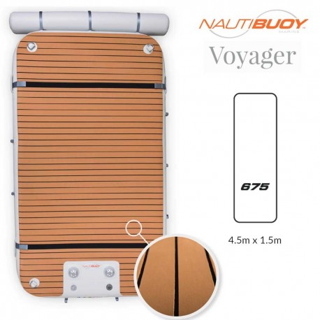 NautiBuoy Voyager 675 Teak