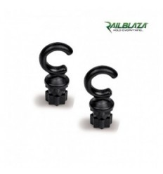 RAILBLAZA Hook25 Pair Black
