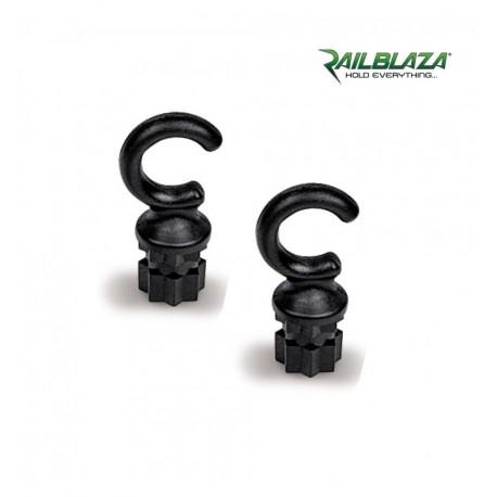 RAILBLAZA Hook25 Pair Black