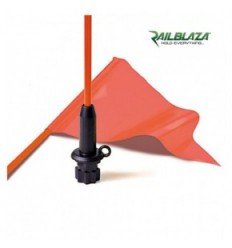 RAILBLAZA Flag Whip & Pennant Black Base