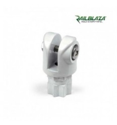 RAILBLAZA Clevis/Bimini Support Pair White