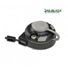 RAILBLAZA E Series Usb Starport Black