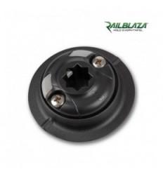 Railblaza QuikPort con adesivo nero