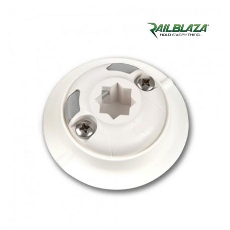 Railblaza QuikPort con adesivo bianco